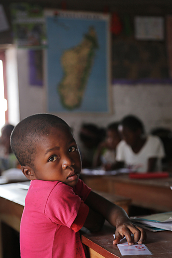 …A MORNING AT AMBALADINGANA SCHOOL, MADAGASCAR